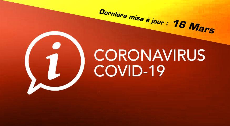 CORONAVIRUS : les mesures d'urgence à prendre concernant les personnels territoriaux et la continuité du service (màj du 16/03/20)